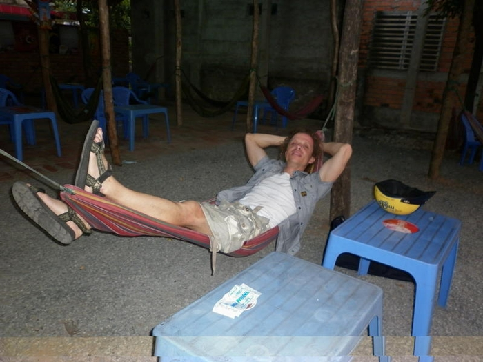 Relax after an hard trip to Bien Hoa