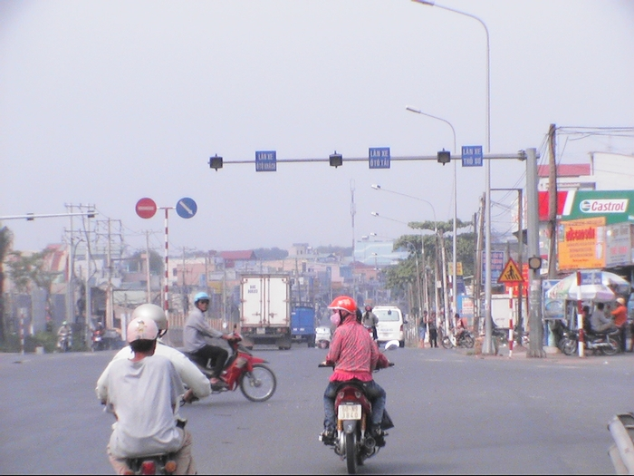 The highway to Bien Hoa