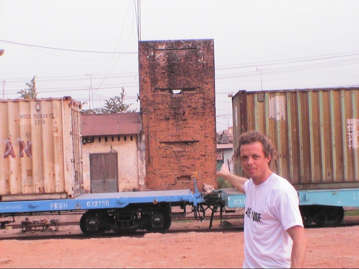Me outside the old MACV Army camp in HoNai/Bien Hoa