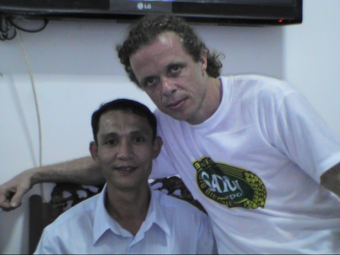 Father Founded meeting one more amerasian in Ho Chi Minh City