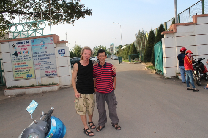 Father Founded outside the old gate of the Amerasian Transit Center, 20 years after it all started