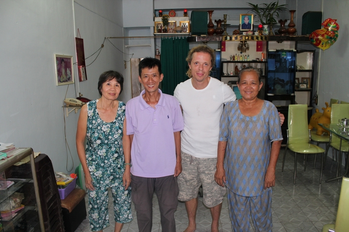 Me and Hung, with our 2 helping angels